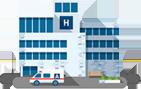 Mapa de Calor para Hospitais