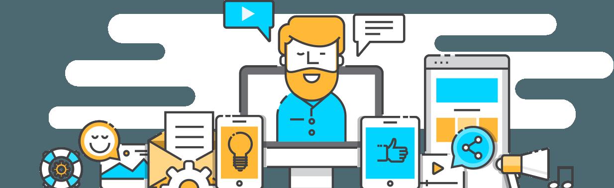 Criar e lançar pesquisas de visitantes